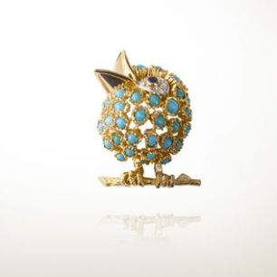 "Oiseau clip (1965),Van Cleef and Arpels' Collection""la Boutique"""