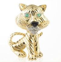 "The Tigre Clip, 1967,Van Cleef and Arpels' Collection""la Boutique"""