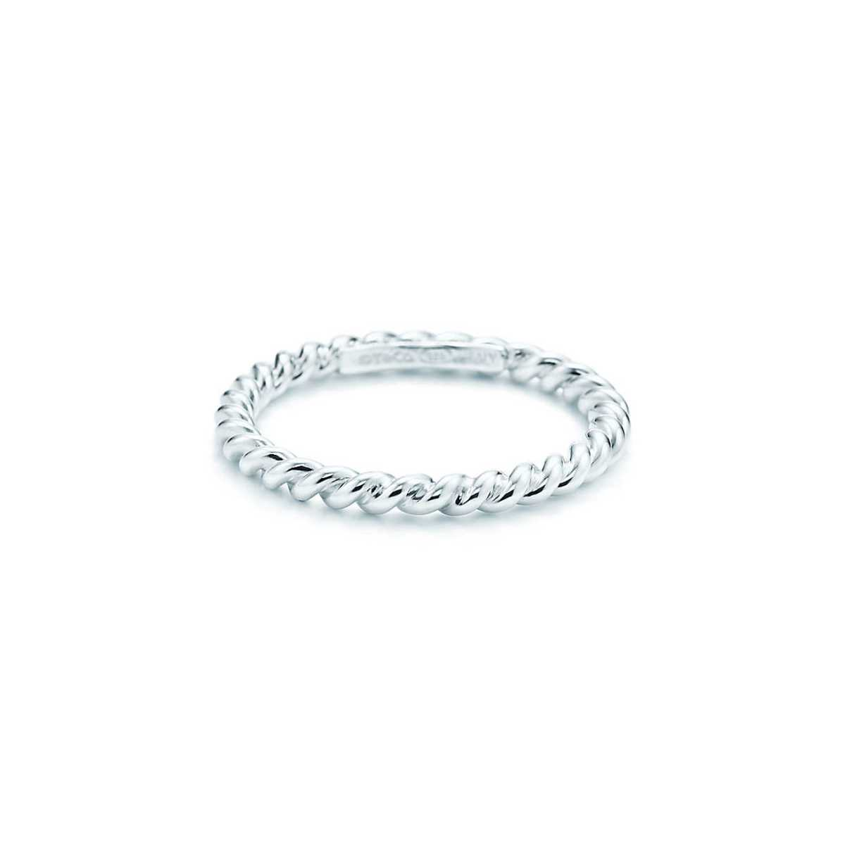 Anello Twist in argento di Tiffany_ sophiworldblog
