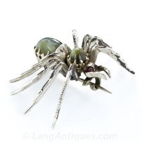 Antique Cats-Eye Spider Brooch.sophiworldblog.com