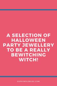 Halloween Witch Jewellery!sophiworldblog.com