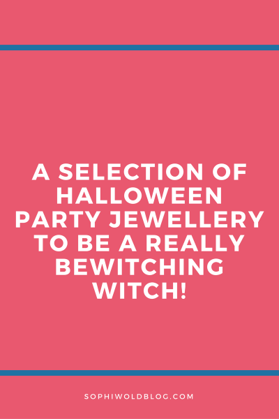 Halloween Witch Jewellery!sophiworldblog.com