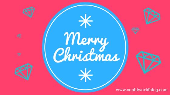 Merry Christmas!www.sophiworldblog.com