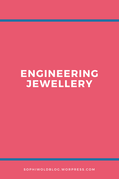 Engineering Jewellery!Read more on www.sophiworldblog.com