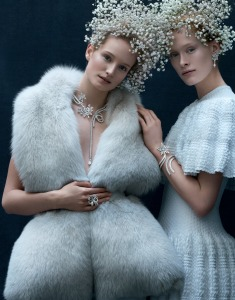 Van Cleef&Arpels ContesHiver!7 Winter Jewels fit for a Snow Queen!Read more on www.sophiworldblog.com