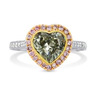 Heart Diamond Ring by Leibish. Valentine's Jewellery. Read more on www.sophiworldblog.com