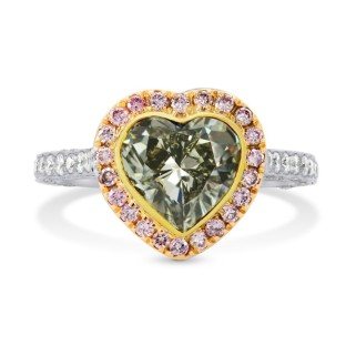 Heart Diamond Ring by Leibish. Valentine's Jewellery. Read more on www.sophiworldblog.com