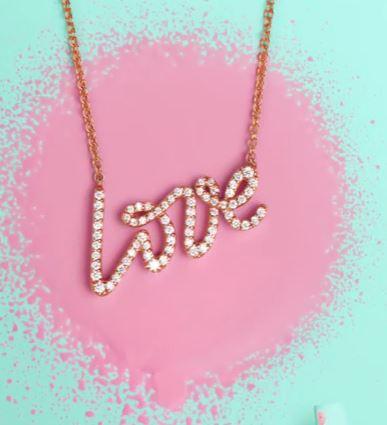 Love Pendant Paloma Picasso. Valentine's Jewellery. Read more on www.sophiworldblog.com