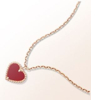 Hearth pendant Van Cleff & Arpels. Valentine's Jewellery. Read more on www.sophiworldblog.com
